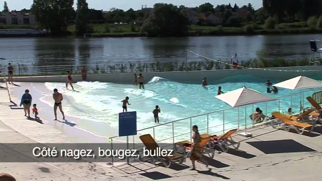 L 39 espace nautique du grand chalon youtube for Piscine design fontaines sur saone