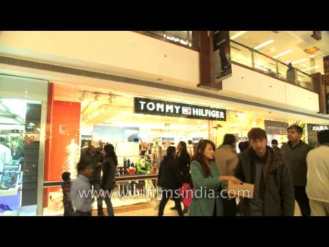 Tommy Hilfiger store at the all-in-one mall - Select Citywalk, Delhi
