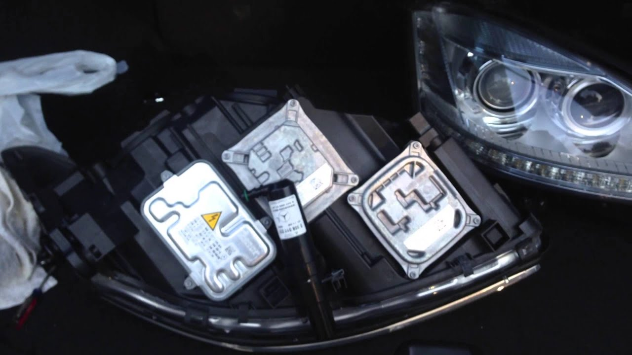 Facelift Headlights 2010 W221 Mercedes Benz AMG S65 S63 S550  YouTube