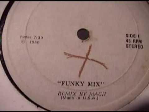"""FUNKY MIX"" ( REMIX BY MACH ) Remix Records 1980"