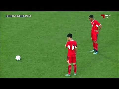 بطولة اتحاد غرب آسيا الأولى للشباب: الموسم 2019 / 2020 - مباراة / الأردن 2 × 0 فلسطين