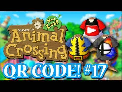 ANIMAL CROSSING: NEW LEAF - QR CODES - SUBSCRIBER SPECIAL #1! (EPISODE 17)