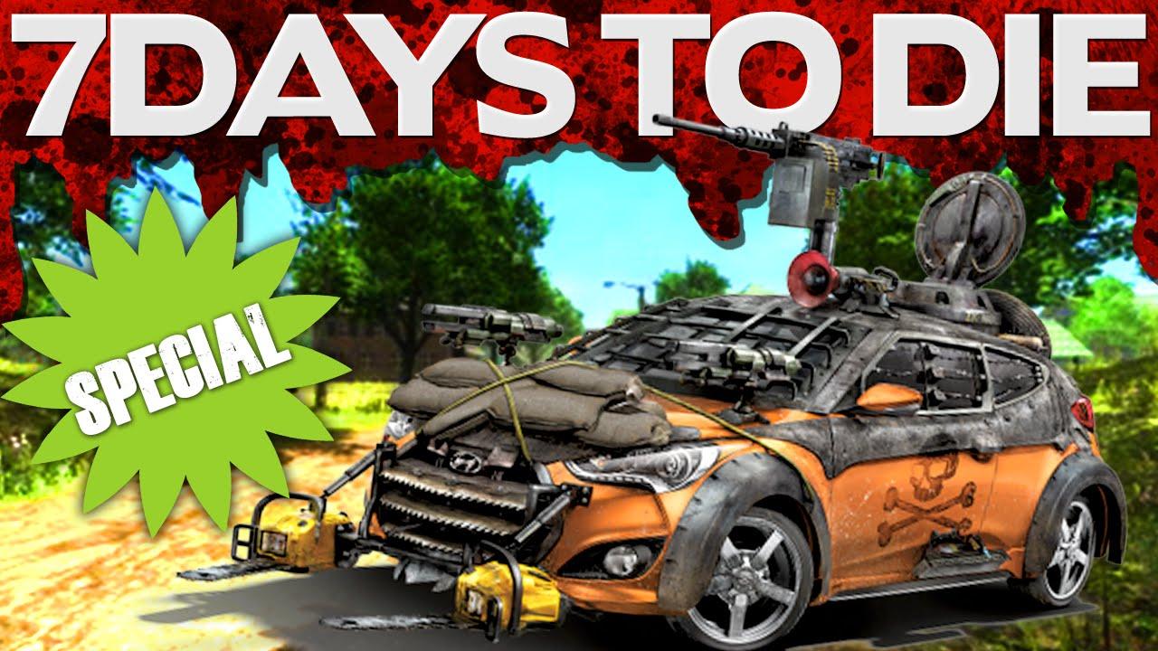 Special Zombie Car Sale 7 Days To Die 17 Youtube