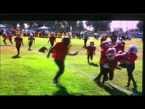 Marcellus Royal 1st year as a peewee (Mclane Football)