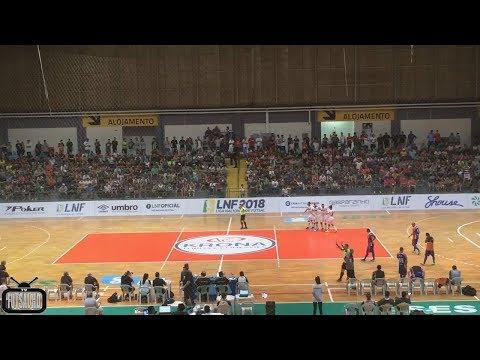 Gols Blumenau 10 x 3 Shouse - 4ª Semana Liga Nacional de Futsal 2018 13042018