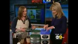 Becky Shares Organizing Tips on CBS Los Angeles!