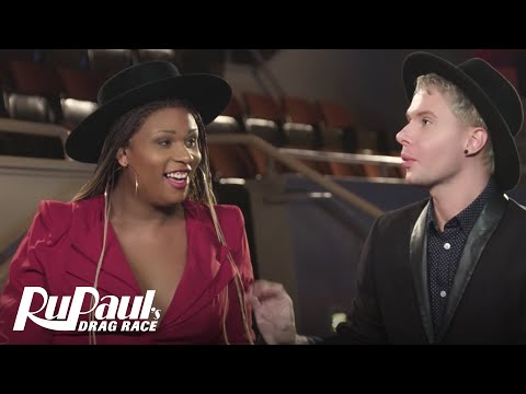 Queen To Queen: Peppermint & Trinity Taylor | RuPaul's Drag Race Season 9 | Now on VH1