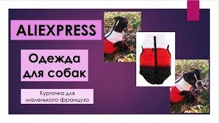 Распаковка посылки с AliExpress\ AliExpress в Грузию\ одежда для собаки\ французский бульдог