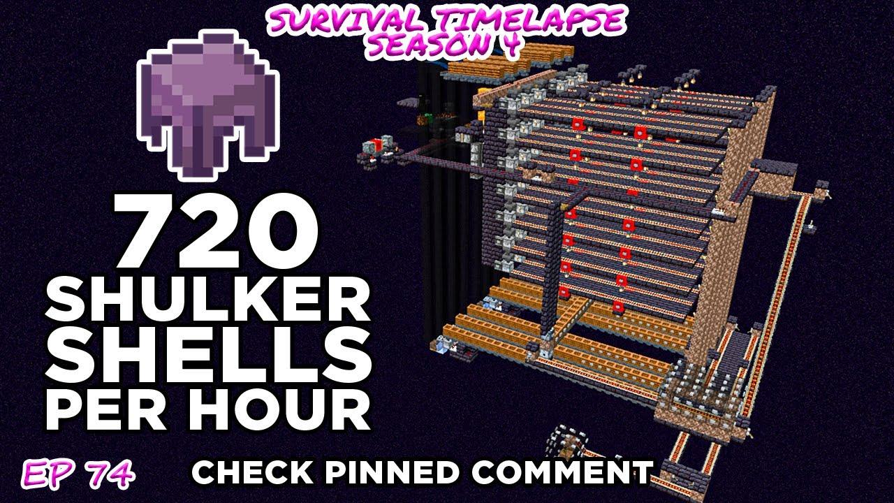 Download Shulker Shell farm | Survival Timelapse Season 4 Episode 74 (Check pinned comment)