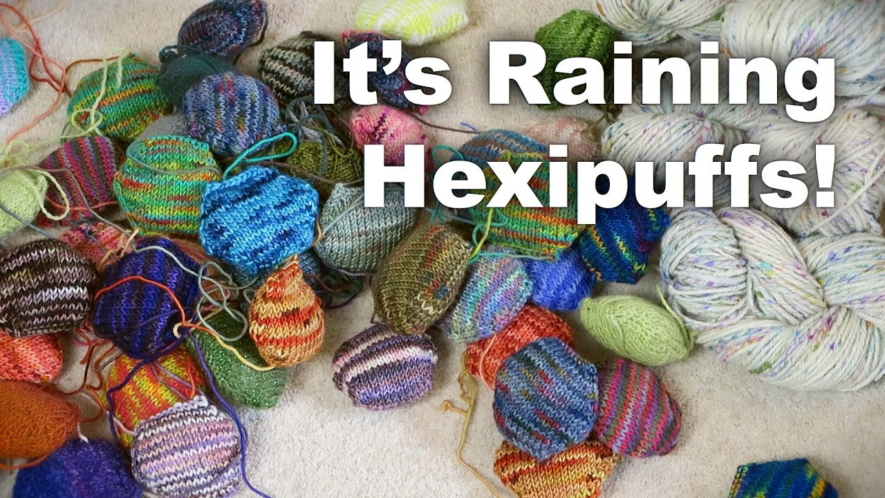 Its Raining Hexipuffs Along The Lanes Episode 9 Knitting And