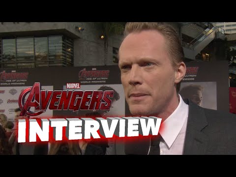 "Marvel's Avengers: Age of Ultron: Paul Bettany ""Jarvis"" / ""Vision"" Premiere Interview"