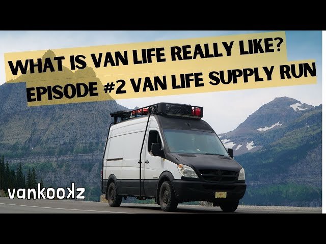What is Van Life Really Like? | How to go Grocery Shopping in Van Life