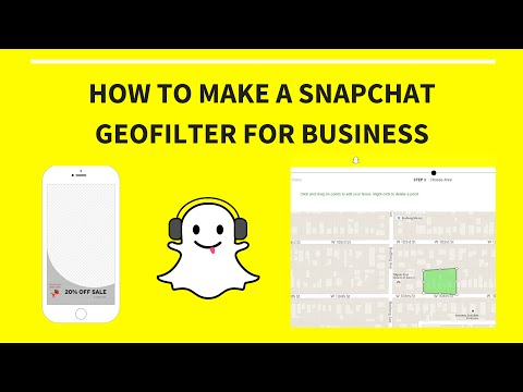 How to Create A Snapchat Geofilter For Business (2016, On-Demand, Paid)