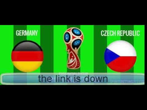 Germany vs Czech Republic world cup qualifier live streaming