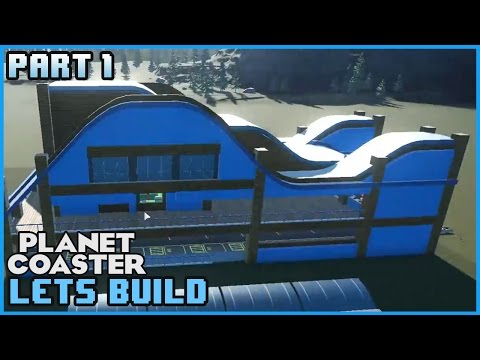 PLANET COASTER GO-KARTS! Part 1: Lets Build 06 #PlanetCoaster