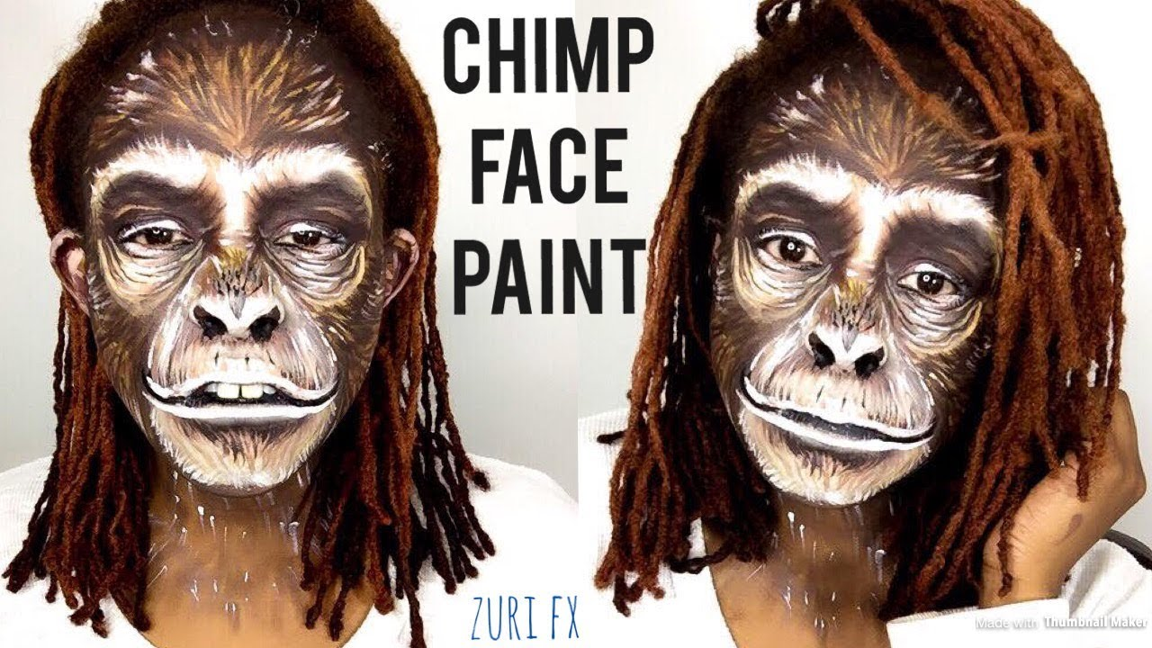Cute Monkey Makeup Tutorial - Mugeek Vidalondon - photo#18