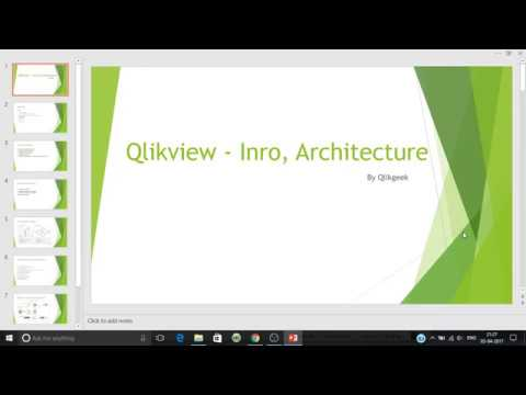 Introduction to qlikview qlikview architecture for Architecture qlikview
