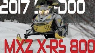 STV 2017 Ski-Doo MXZ X-RS 800