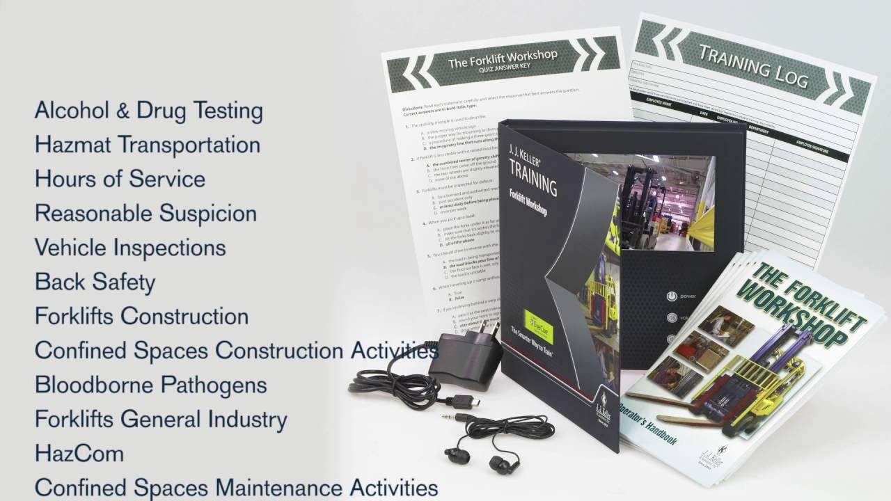 J  J  Keller® Video Training Books