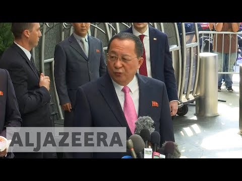 Al Jazeera English: North Korea's foreign minister says Trump 'declared war'