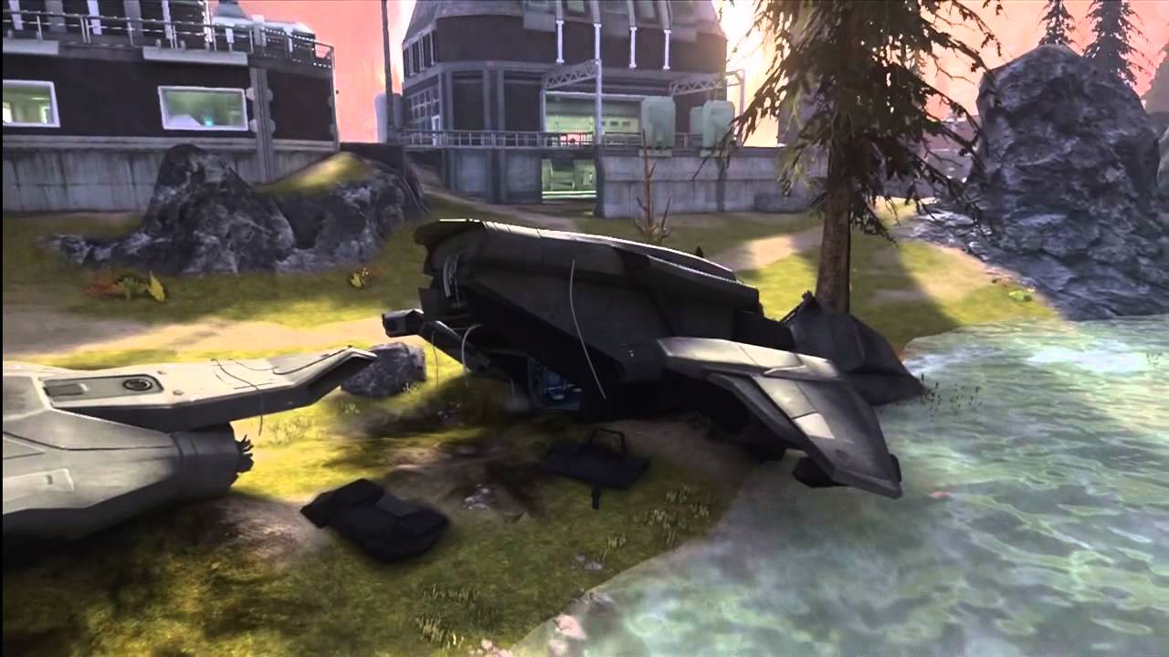 The legend of the crashed pelican halo reach machinima for Take me fishing org