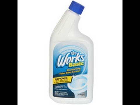 The Works-Toilet Cleaner that Wipes Away Soap Scum: Product Review