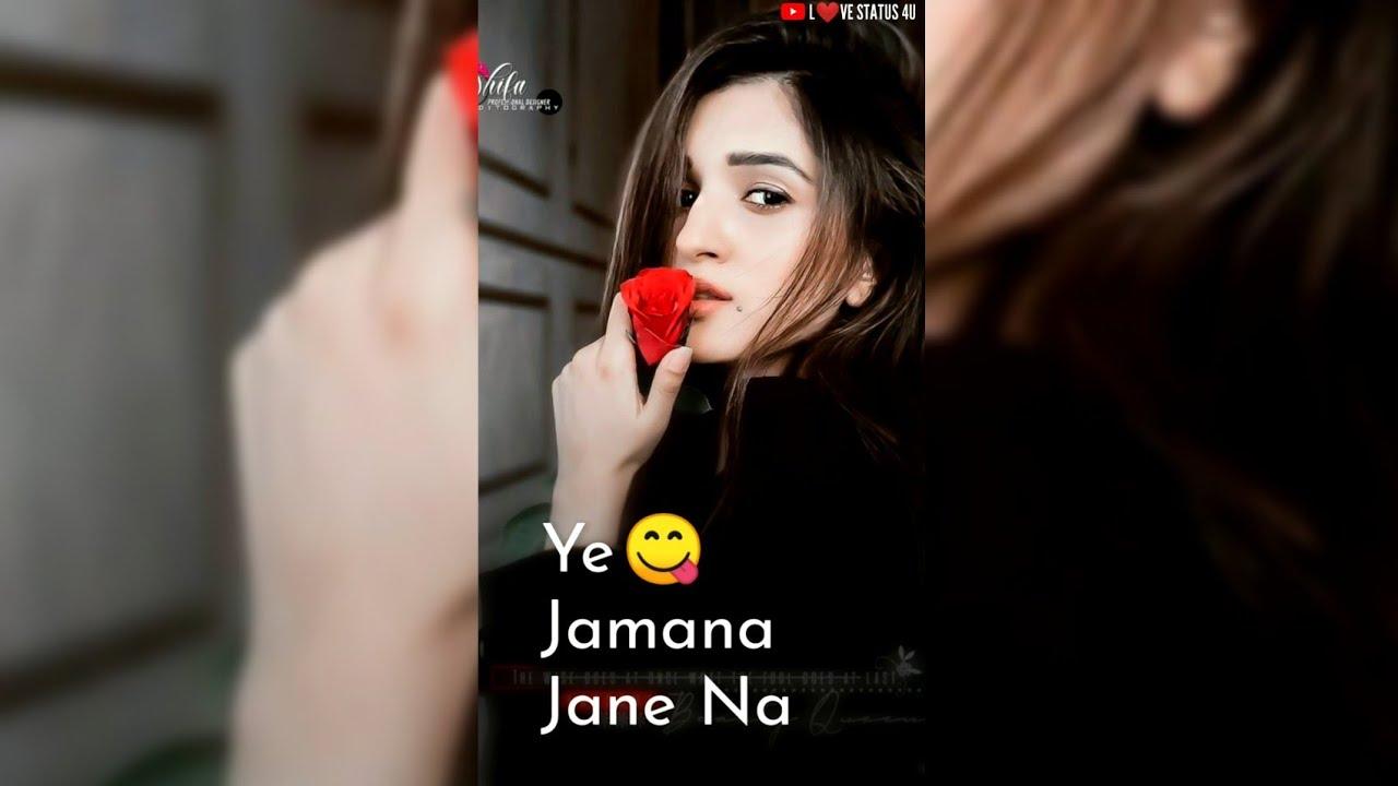 New Female Version Fullscreen Whatsapp Status, Status, Girls status, Female sad song status, 2021