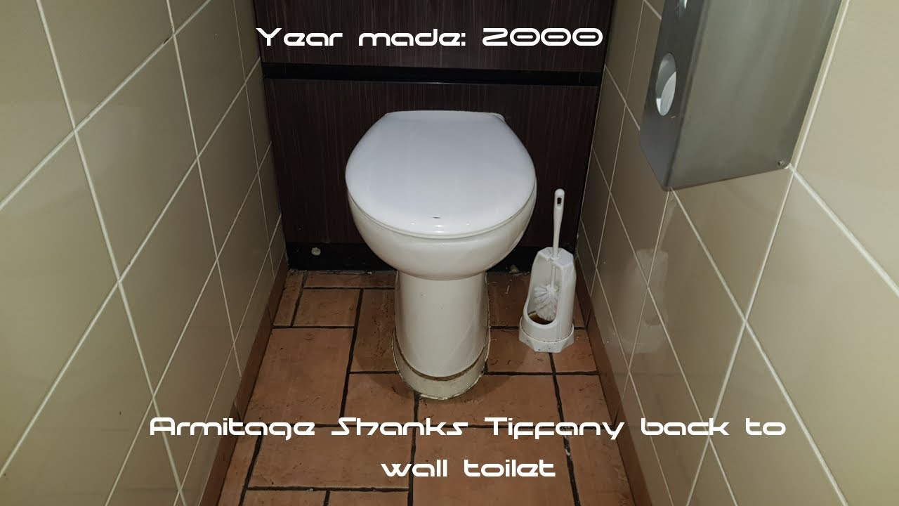 Armitage Shanks Tiffany Back To Wall Toilet 2000 Version At Pizza Hut Bridgend