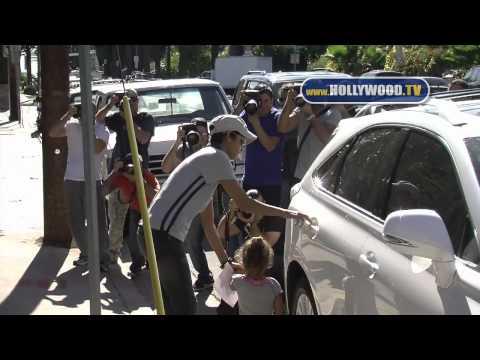 Halle Berry picks up daughter Nahla Ariela Aubry from school