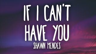 Gambar cover Shawn Mendes - If I Can't Have You (Lyrics)