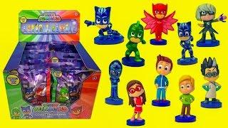 герои в масках игрушки сюрпризы видео. Новая серия киндер сюрприз #Кэтбой #Гекко #Алетт