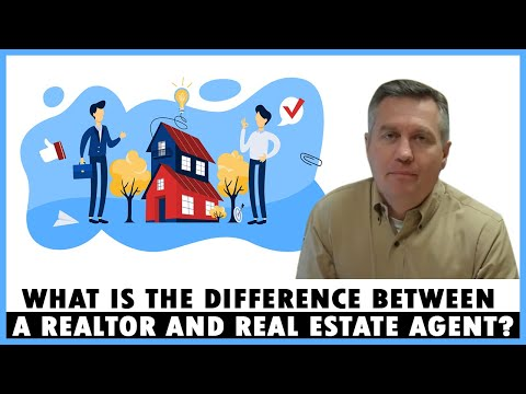 What is the difference between a Realtor and real estate agent?
