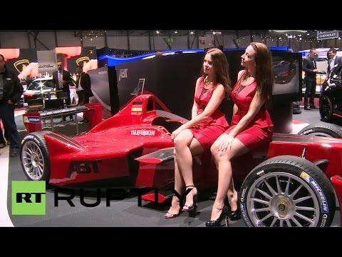 Switzerland: Formula-E cars electrify International Motor Show