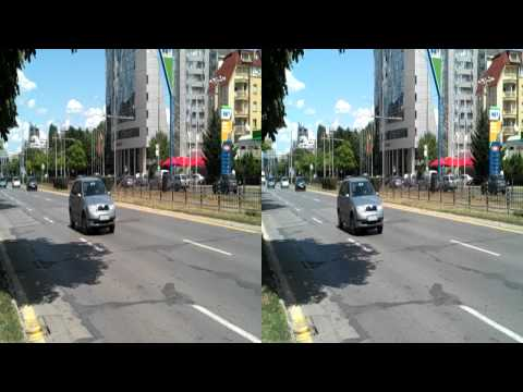 LG Optimus 3D stereoscopic video sample