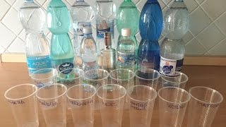 Velký test minerálnich a stolních vod: pH a oxidačně-redukční potenciál