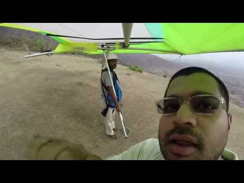 Hang gliding in kamseth