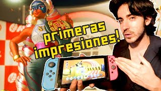 ARMS MERECE LA PENA! - Primeras Impresiones (Nintendo Switch)