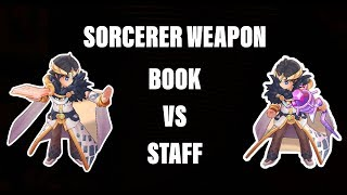 Book VS Staff which one is better for Sorcerer Ragnarok M [ROM]