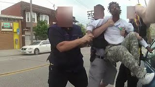 Body Cam Shows Suspect Get Tasered While Resisting Arrest in Cleveland Ohio