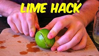 You've Been Cutting And Juicing Your Limes Completely Wrong