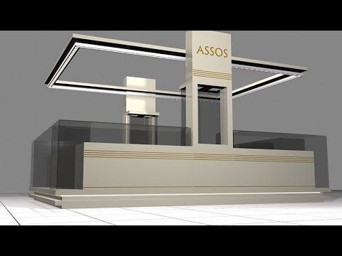 Jewelry Exhibition Stand Design : Jewellery exhibition stand designs youtube