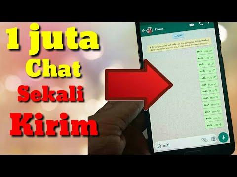 Cara Mengirim Bom Chat Wa Sekaligus Banyak