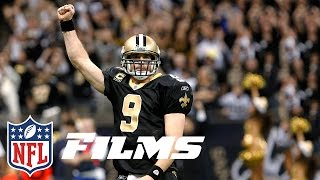 #5 Drew Brees Comes Back From Shoulder Injury to Lead Saints | Top 10 Player Comebacks | NFL Films