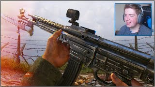 MOST *OVERPOWERED* WEAPON in CoD WW2 BETA! STG 44 BEST CLASS SETUP (Call of Duty WORLD WAR 2 BETA)