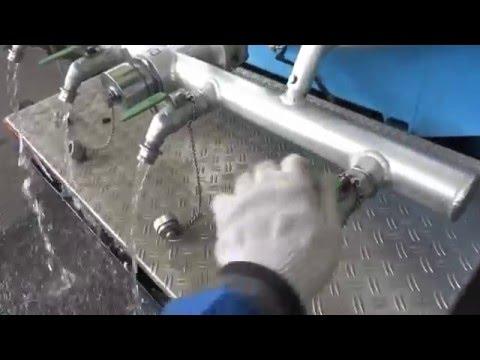 中古トラック 給水車 平成8年式 日本軽金属製 ダイナ 給水 他作動テスト