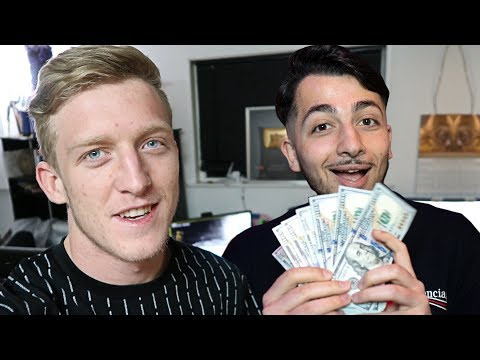 How Much Tfue Pays Me For Editing - Fortnite Q&A