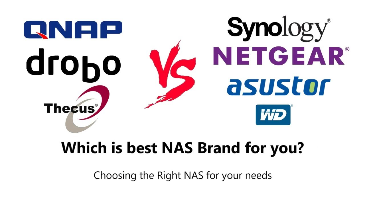 Choosing the Right NAS brand for you - Synology – QNAP – WD – Drobo –  Netgear - Thecus – Asustor