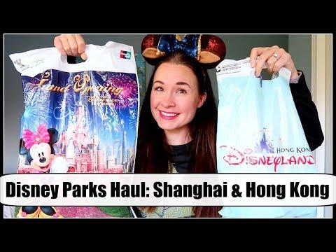 DISNEY PARKS MINI HAUL! Hong Kong Disneyland & Shanghai Disney Resort! Pins, Plush & more!