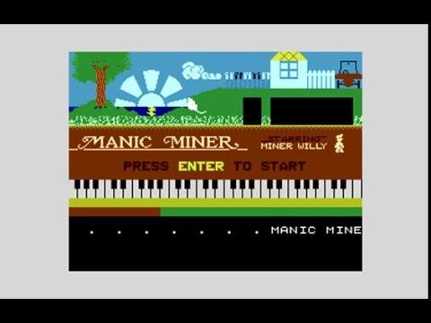 Manic Miner Atari XL/XE final release (1080 50fps)