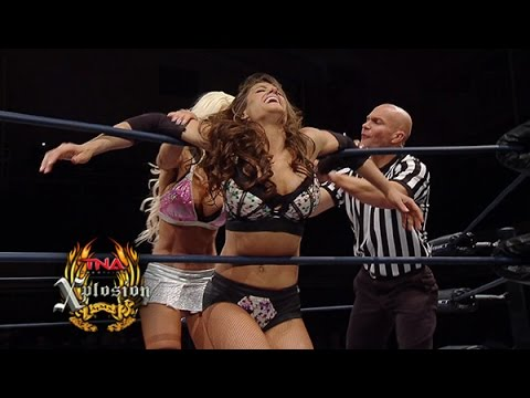 Xplosion Match: Brooke vs Angelina Love